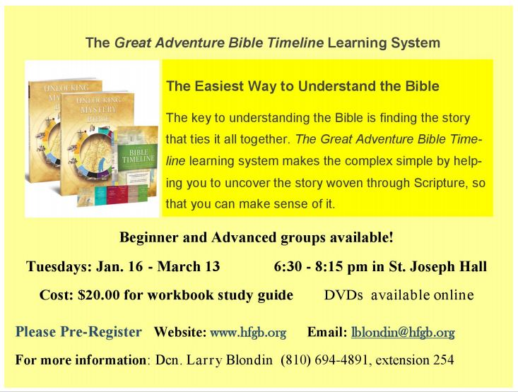 Bible Timeline - Church of the Holy Family